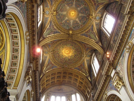 Mosaics Ceiling in St Pauls