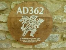 At Roman Villa Chedworth