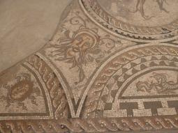 Tiled floor in Corinium Museum Cirencester