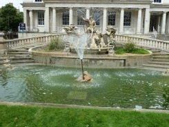 Neptune's Fountain in Cheltenham