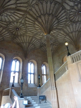 Staircase in Christ Church College used in Harry Potter