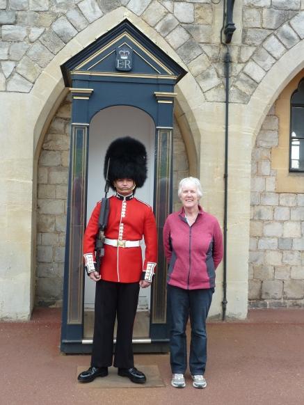 At Windsor Castle