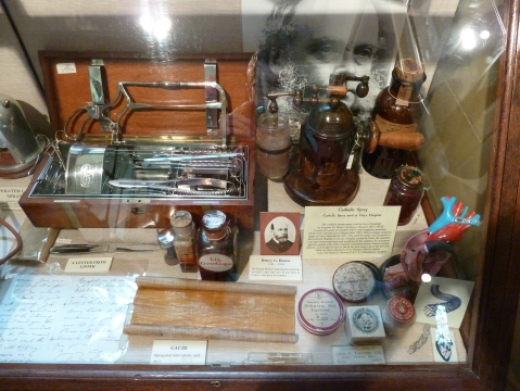 In the Old Operating Theatre