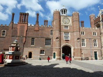 Clock Court at Hampton Court