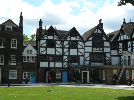 Queen's House in Tower of London. Only Tudor house left in London.