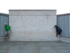 At Lord's Cricket Ground
