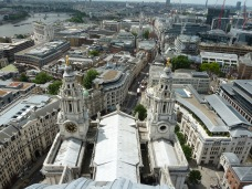 St Paul's from the dome