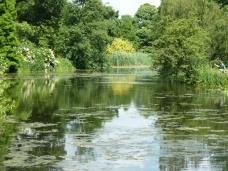 Lake at Kew Gardens