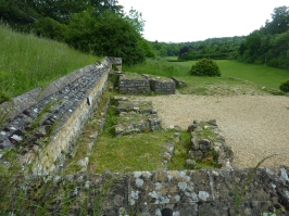 View from Chedworth Roman Villa
