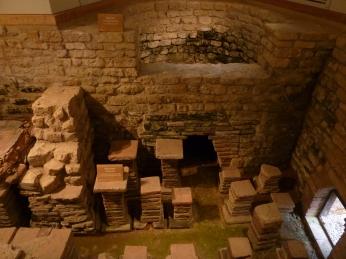 Floor Heating Chedworth Roman Villa