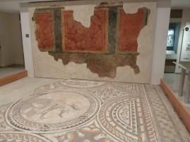 Roman Wall decoration - Corinium Museum Cirencester