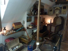 Charles Wade's childhood toys in Snowshill Manor