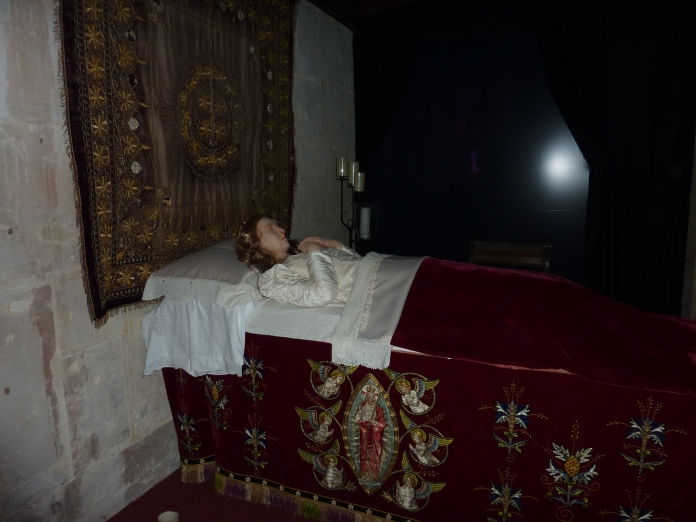 Katherine Parr's tomb - 6th wife of Henry the 8th