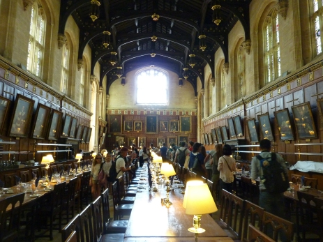 Dining Room in Christ Church College