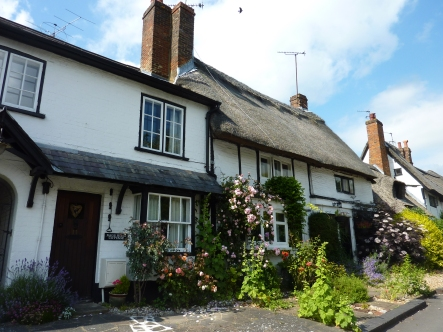 Old houses in Wendover