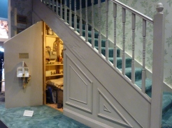 Harry's room under the stairs