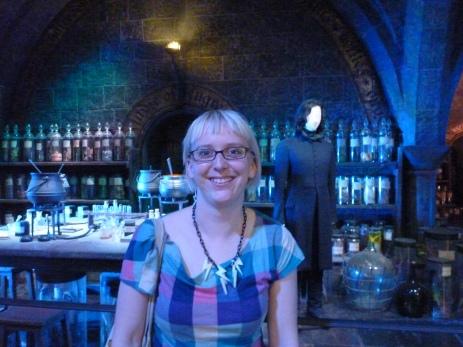Jillian at Harry Potter
