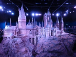 The castle model used for aerial shots