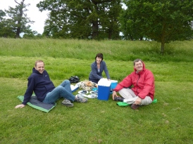 Picnic in Windsor Great Park