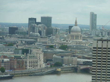 St Pauls from the London Eye