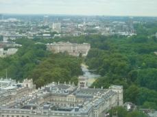 Buckingham Palace from London Eye