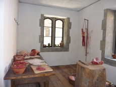 In the Tudor kitchens