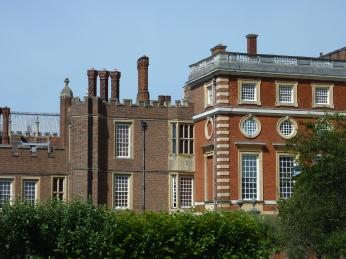 The Tudor Palace meeting the Baroque Palace
