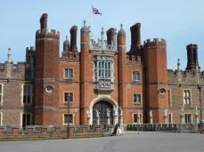 Front of Hampton Court Palace