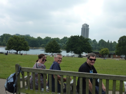 Lunch in Hyde Park