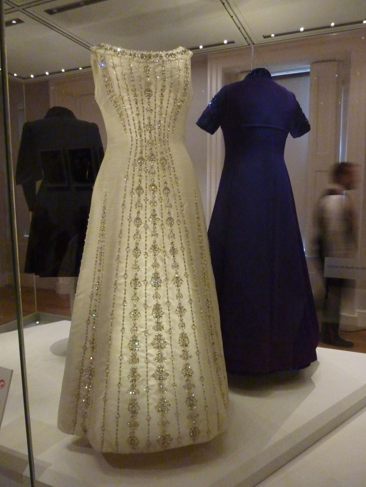 Princess Margaret's dress in Kensington Palace