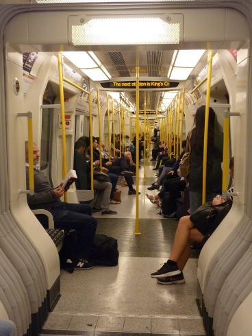 On the tube