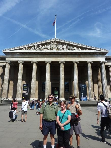 Outside British Museum