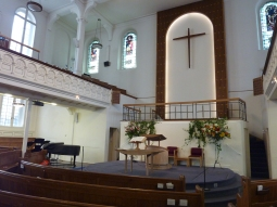 In Bloomsbury Baptist Church